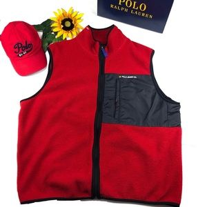Ralph Lauren Polo Jean Company Vest Fleece